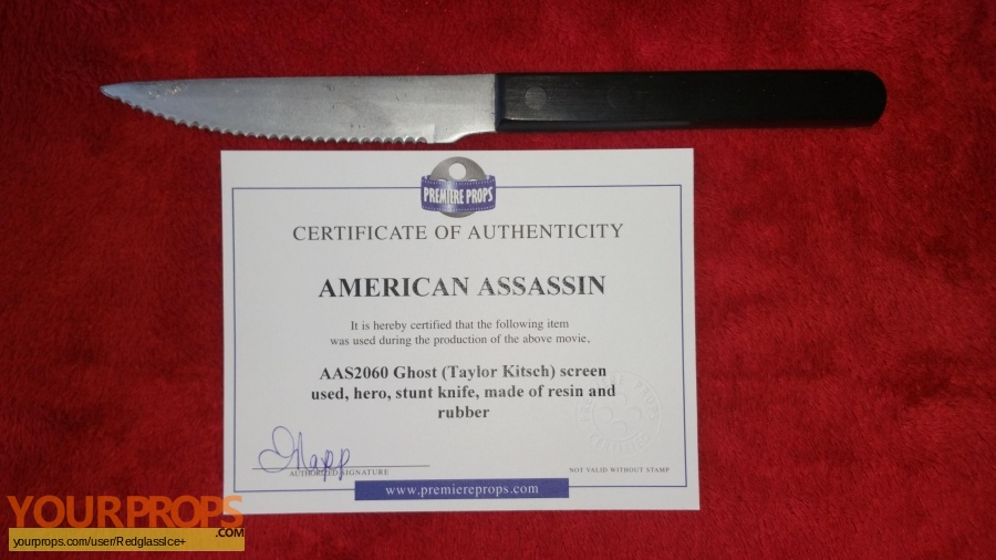 American Assassin original movie prop