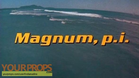 Magnum  P I  original production material