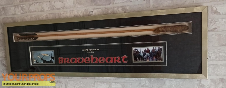 Braveheart original movie prop