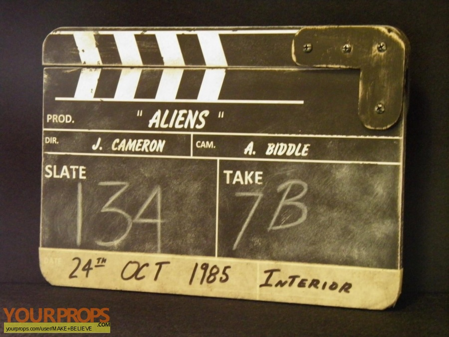 Aliens made from scratch production material
