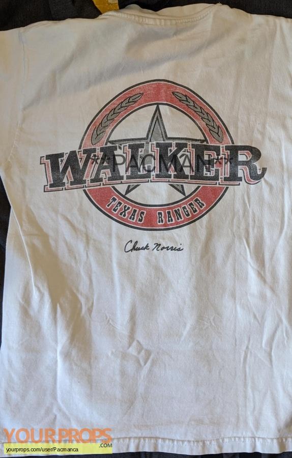 Walker Texas Ranger original film-crew items