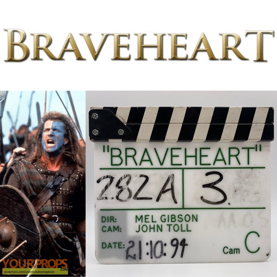 Braveheart original production material