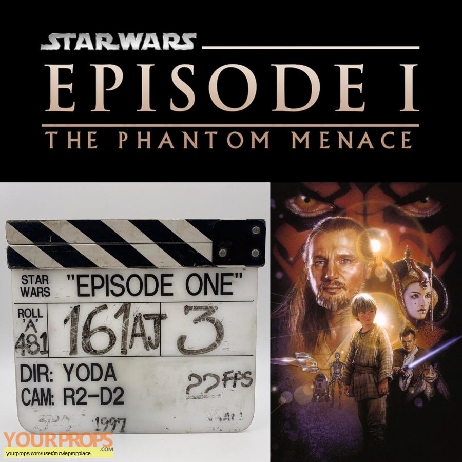 Star Wars Episode 1  The Phantom Menace original production material