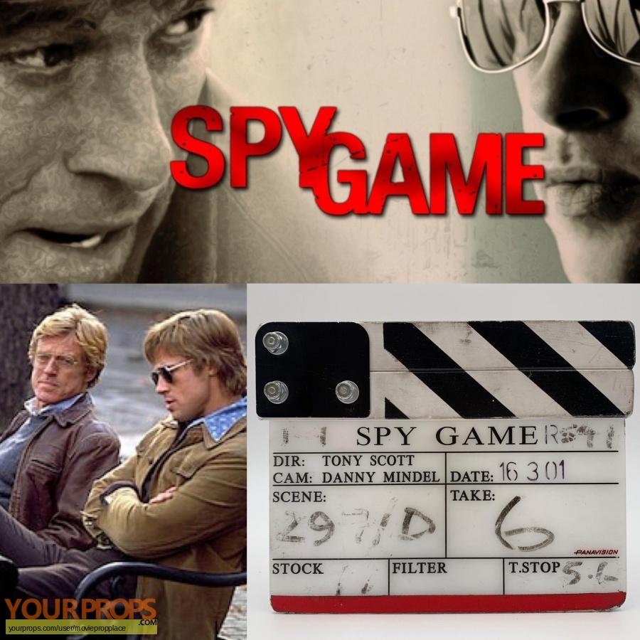 Spy Game original production material