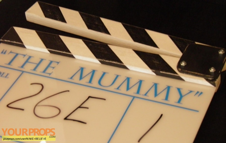The Mummy made from scratch production material