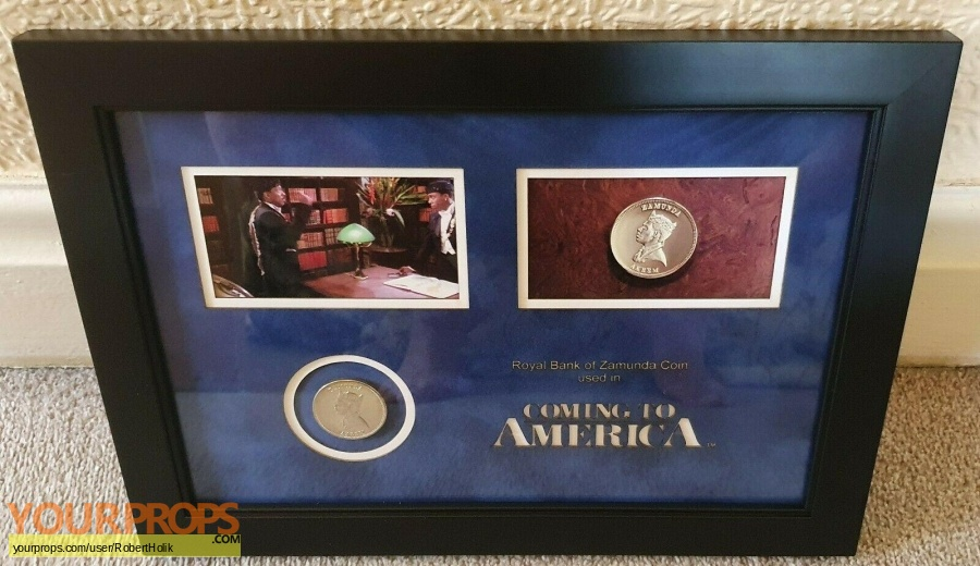 Coming To America original movie prop