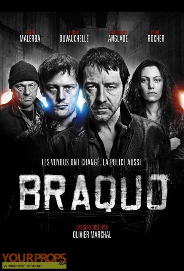 Braquo original movie prop