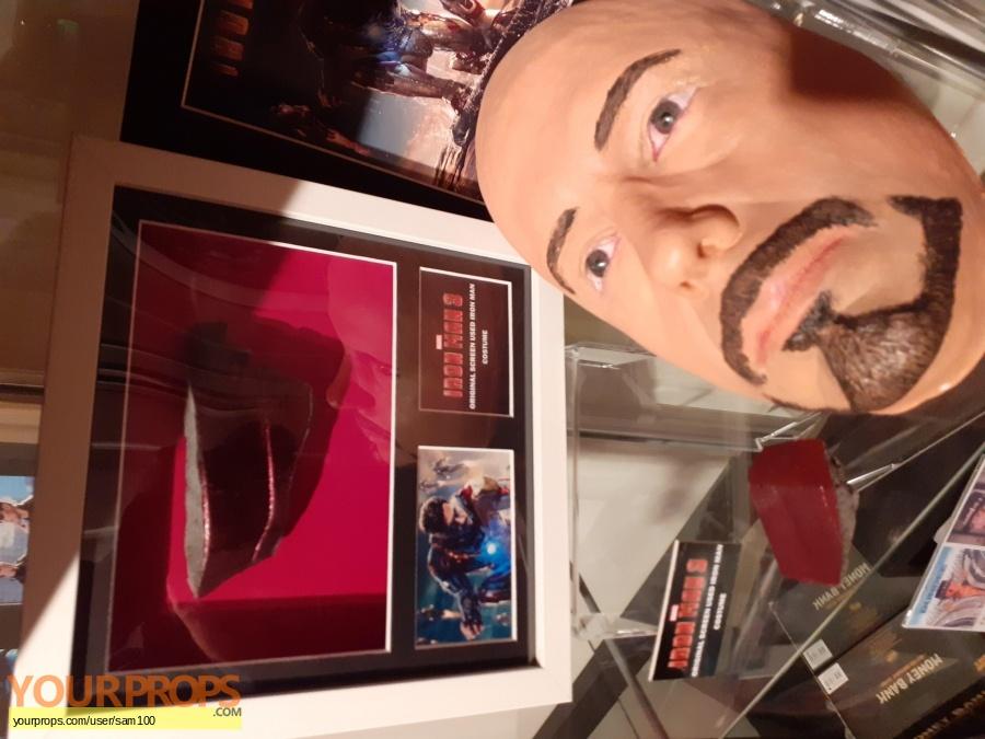 Iron Man 3 swatch   fragment movie prop