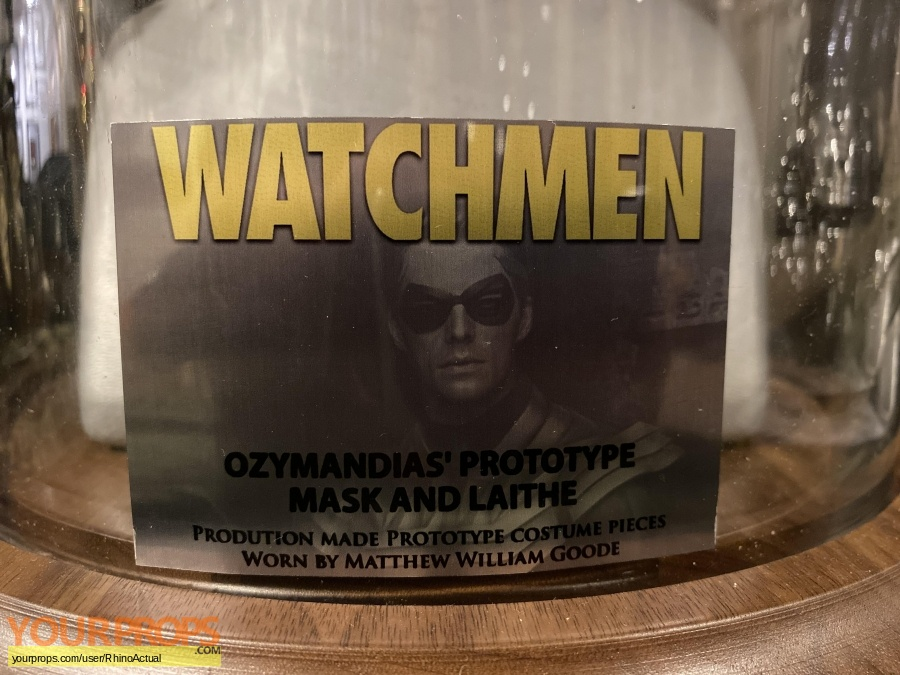 Watchmen original movie costume