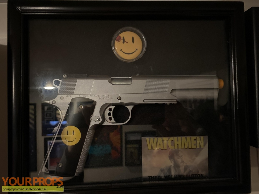 Watchmen original movie prop