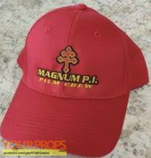 Magnum  P I  original film-crew items