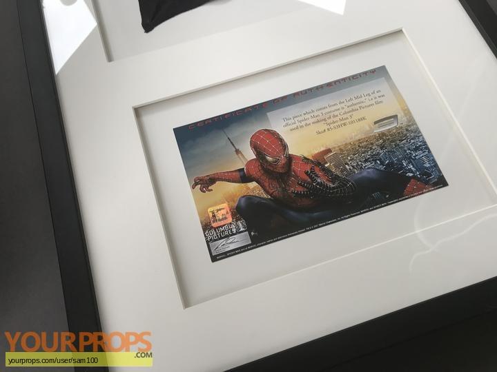 Spider-Man 3 swatch   fragment movie prop
