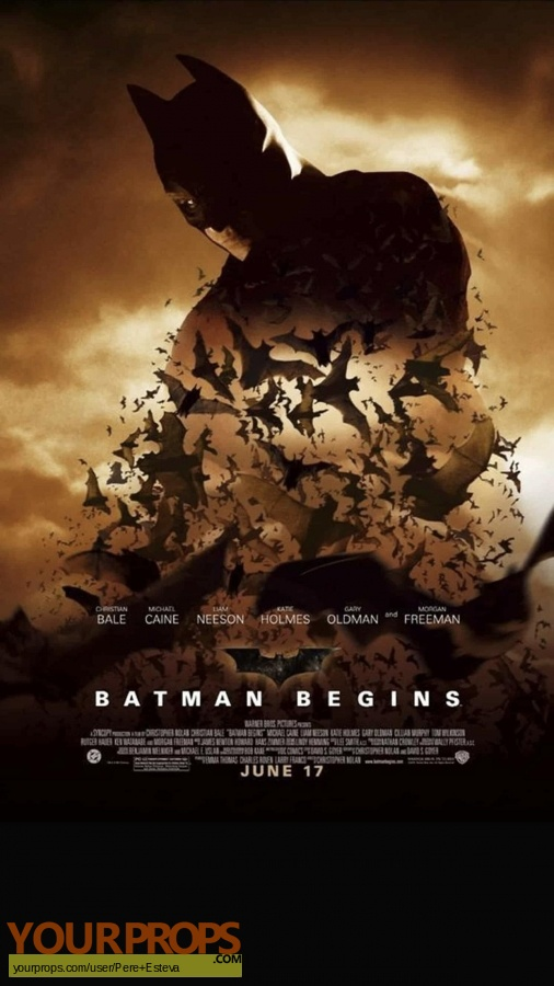 Batman Begins original production material