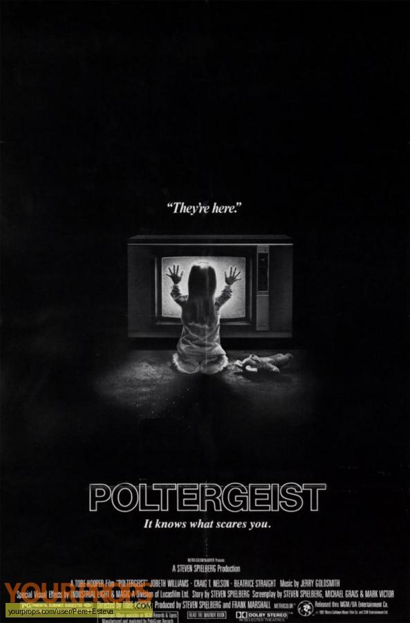 Poltergeist original production material