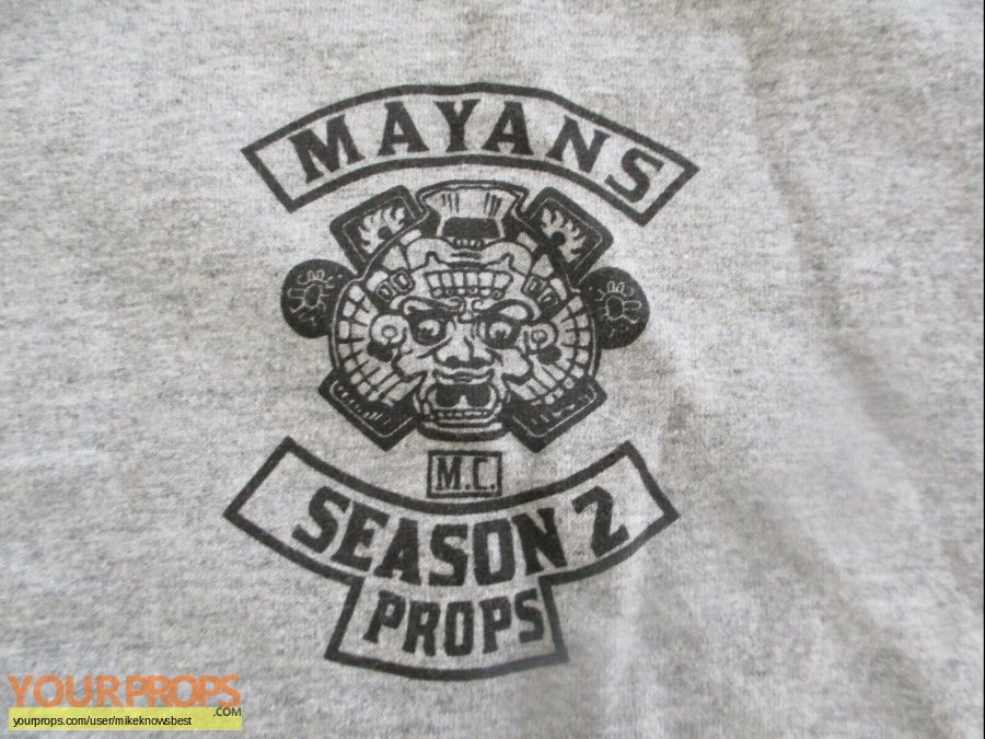 The Mayans original film-crew items