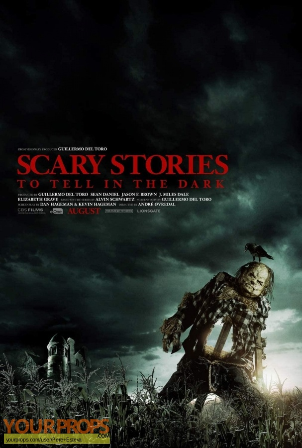 Scary Stories to Tell in the Dark original movie prop