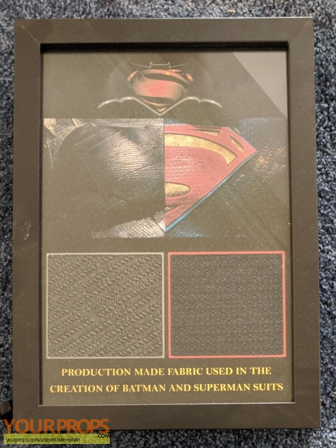Superman Man of Steel original movie costume
