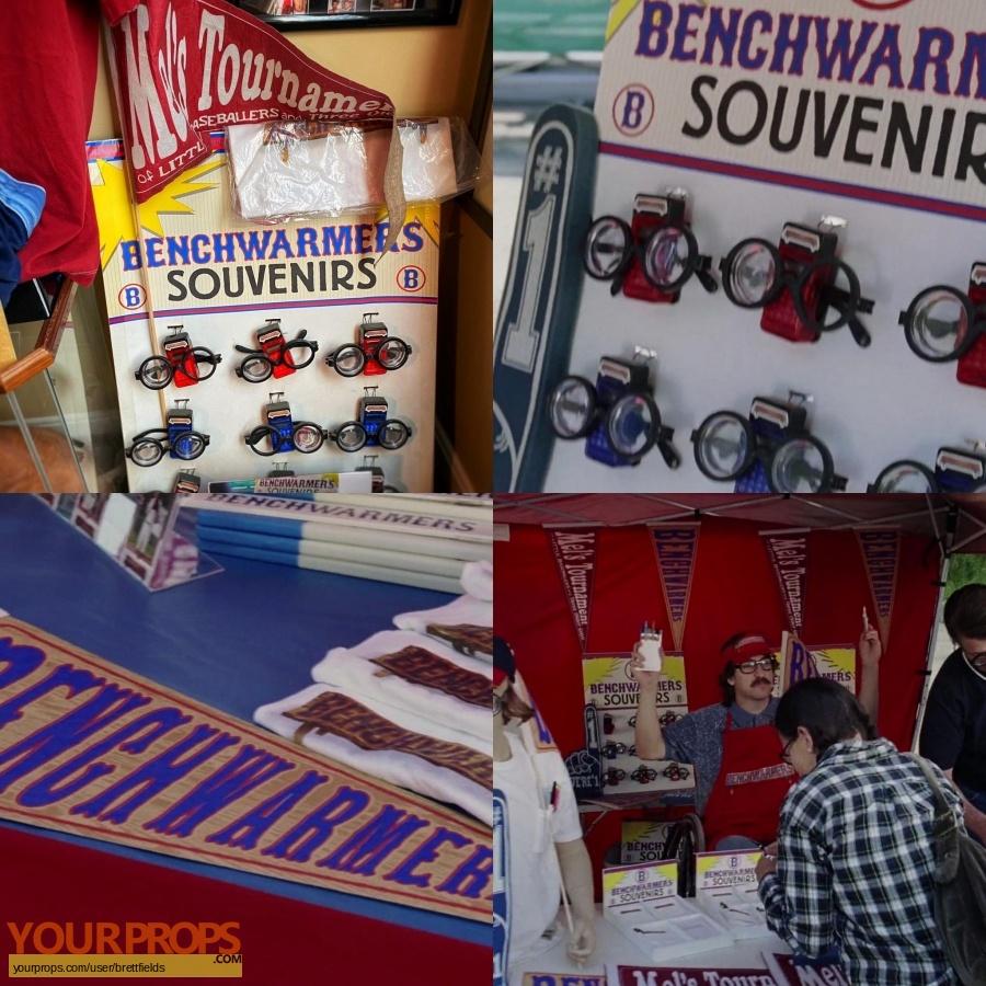 The Benchwarmers original movie prop