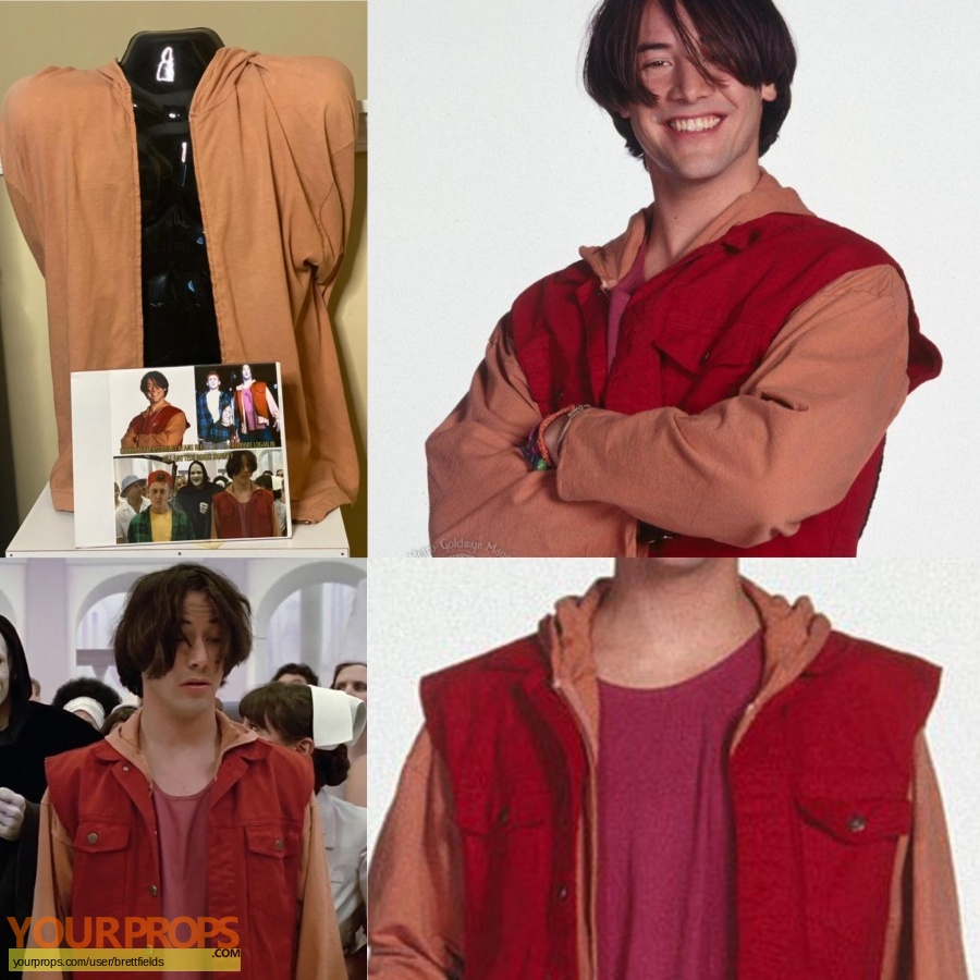 Bill and Teds bogus journey original movie costume