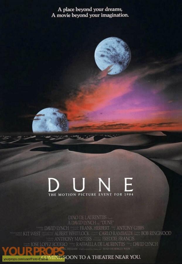 Dune original movie prop