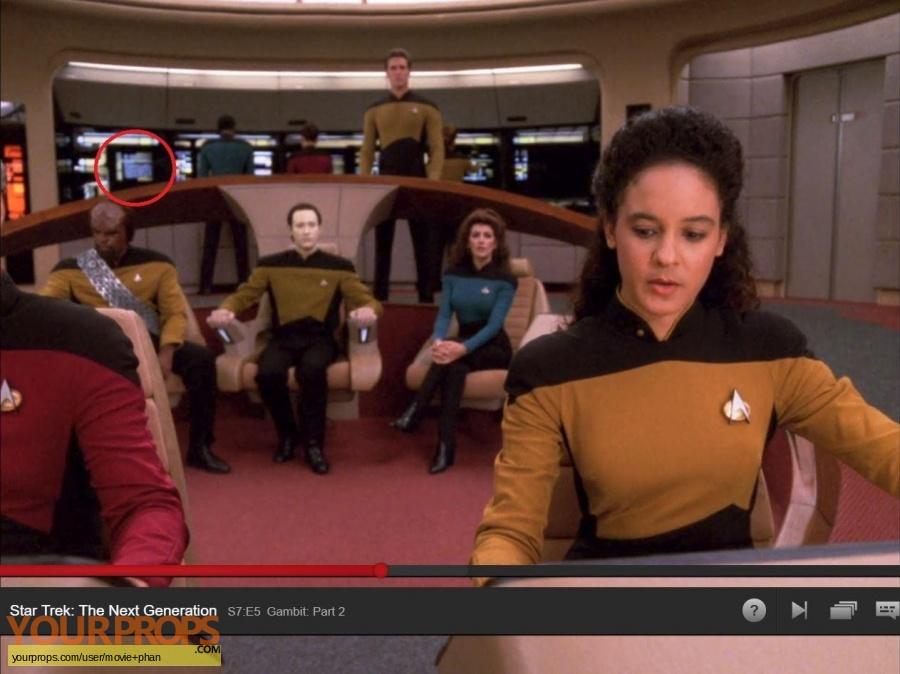 Star Trek - The Next Generation original set dressing   pieces