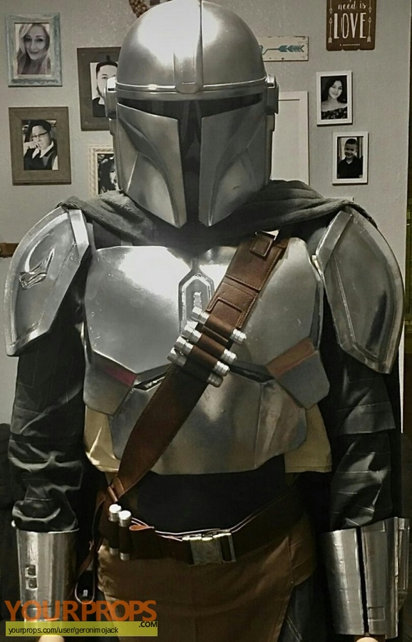 The Mandalorian replica movie prop