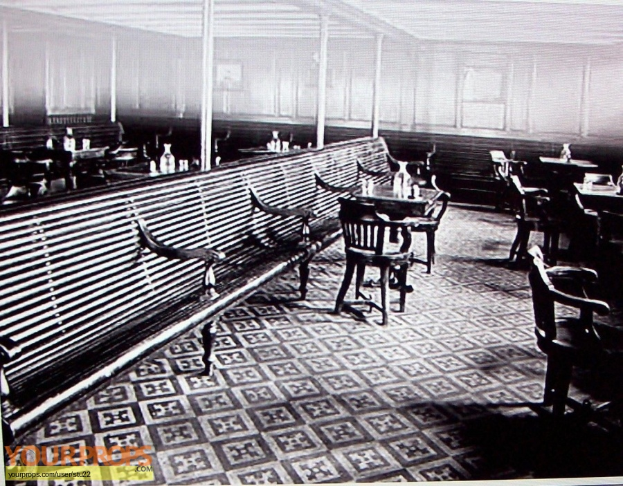 Titanic original set dressing   pieces