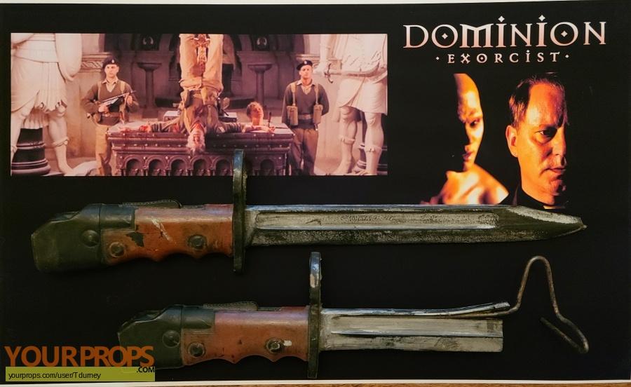Dominion  Prequel to the Exorcist original movie prop