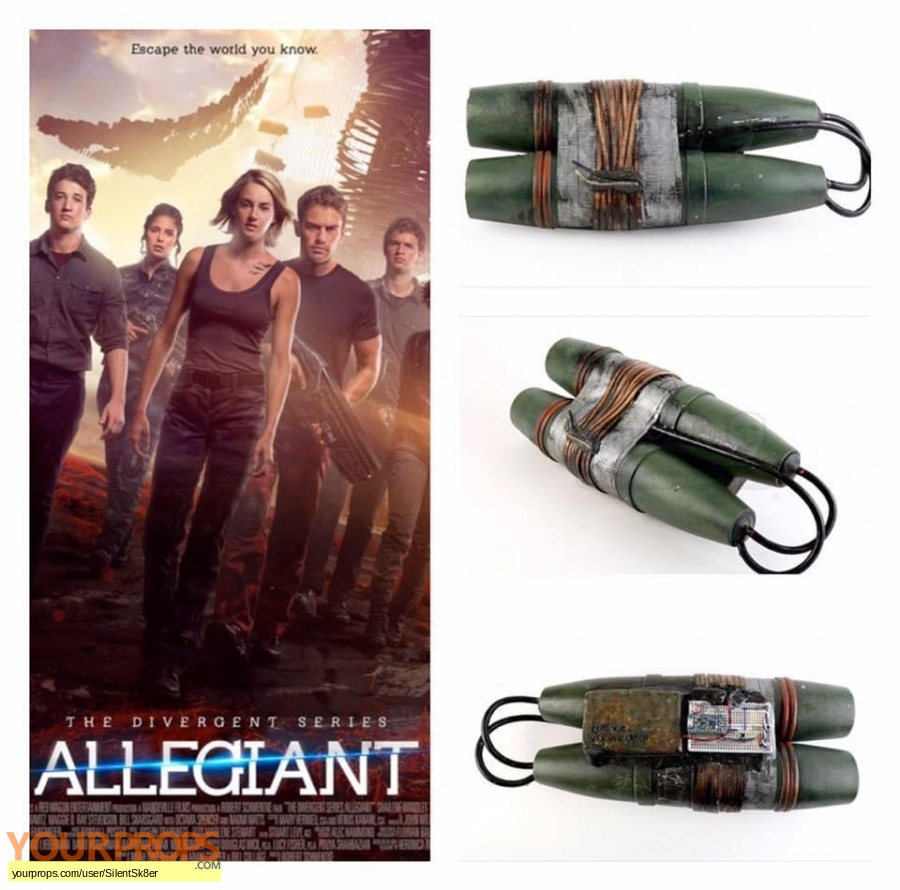 Divergent Allegiant original movie prop