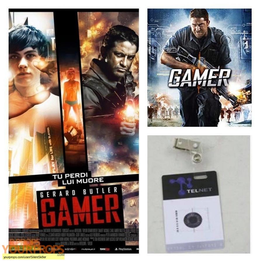 Gamer original movie prop