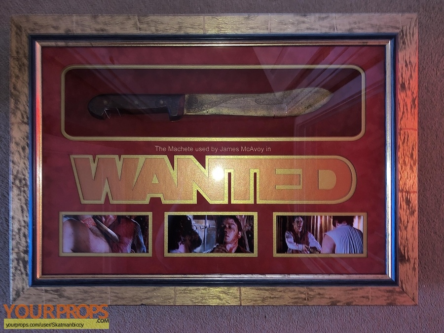 Wanted original movie prop