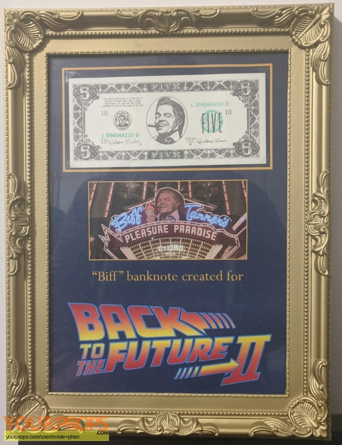 Back to the Future II original production material