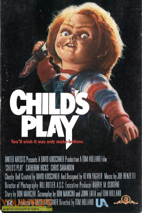 Childs Play original production material