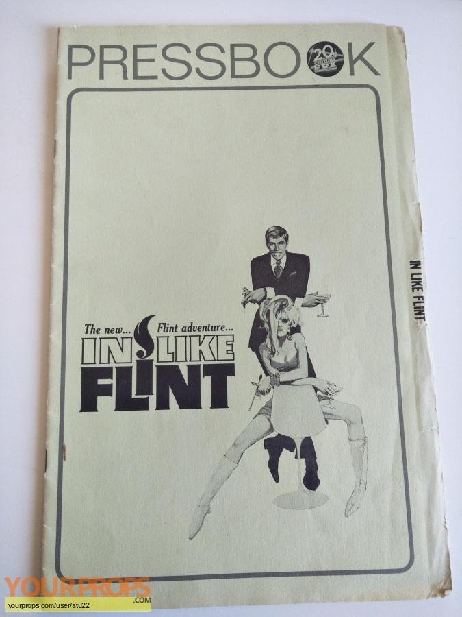 In Like Flint original production material