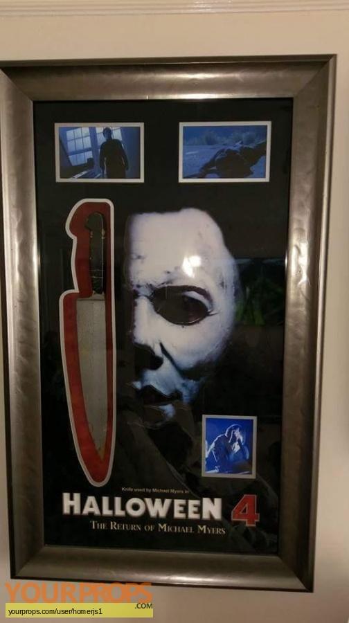 Halloween 4  The Return of Michael Myers original movie prop