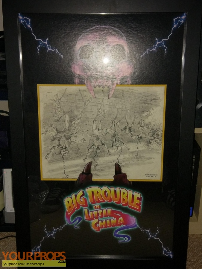 Big Trouble in Little China original production material