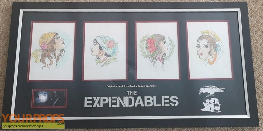 The Expendables original movie prop