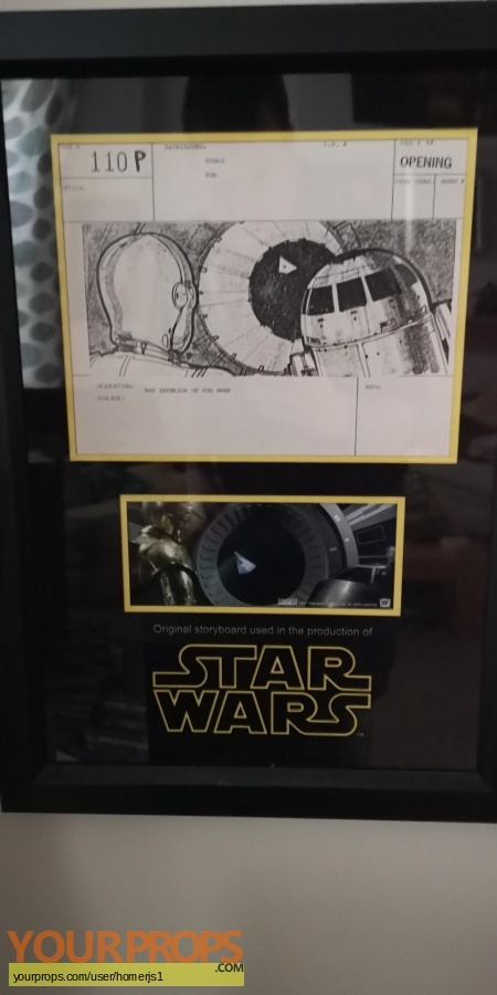 Star Wars  A New Hope original production material