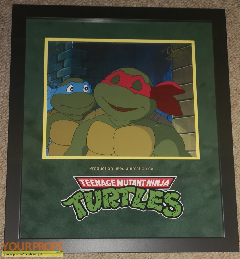 Teenage Mutant Ninja Turtles original production material