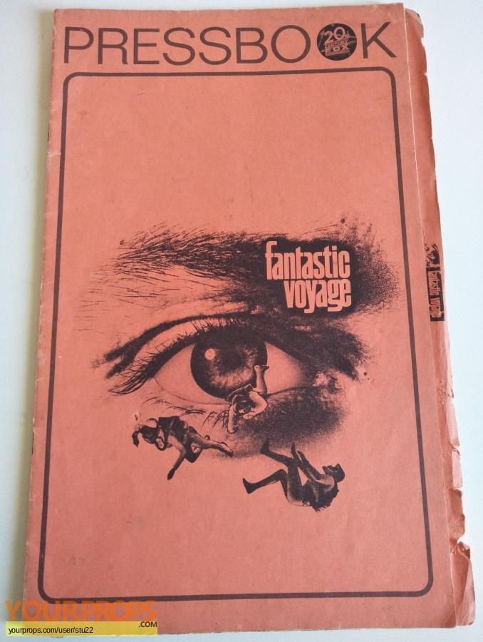 Fantastic Voyage original production material