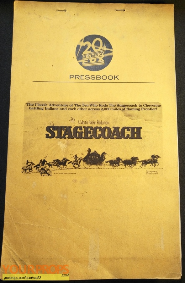 Stagecoach original production material