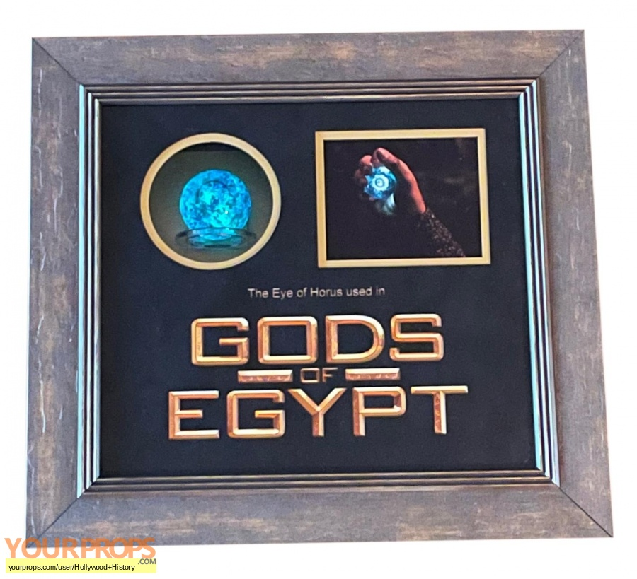 Gods of Egypt original movie prop