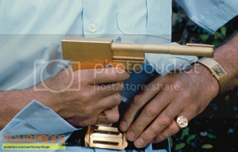 James Bond  The Man With The Golden Gun original movie costume
