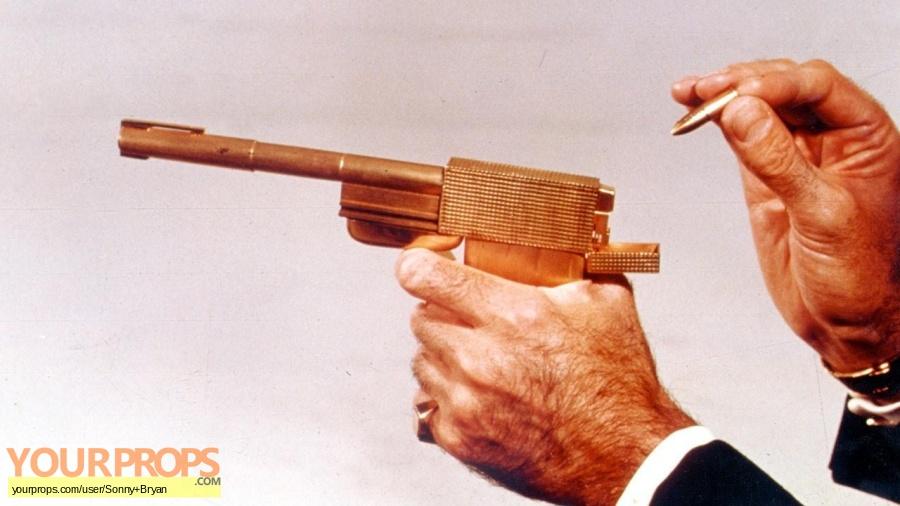 James Bond  The Man With The Golden Gun replica movie prop