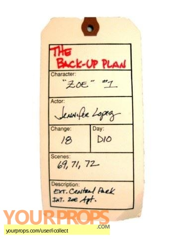 The Back-up Plan original movie costume
