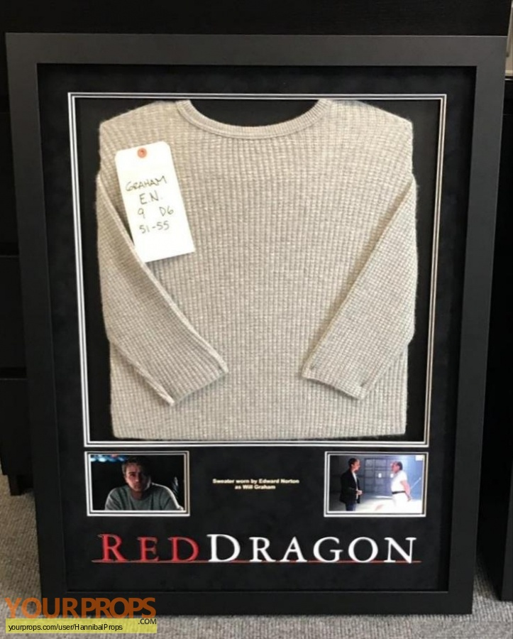 Red Dragon original movie costume