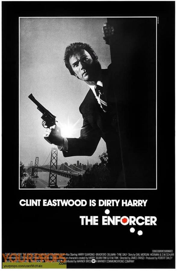 The Enforcer replica movie prop