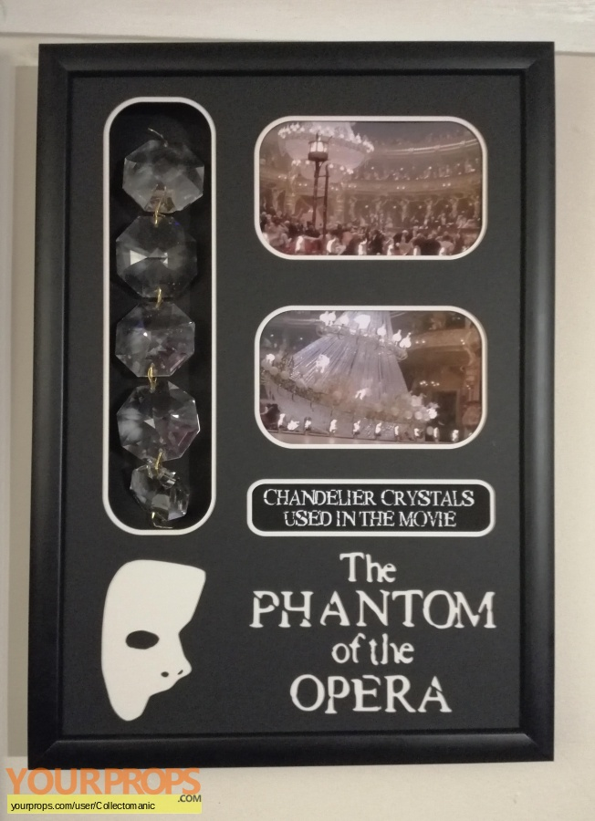 The Phantom of the Opera original movie prop