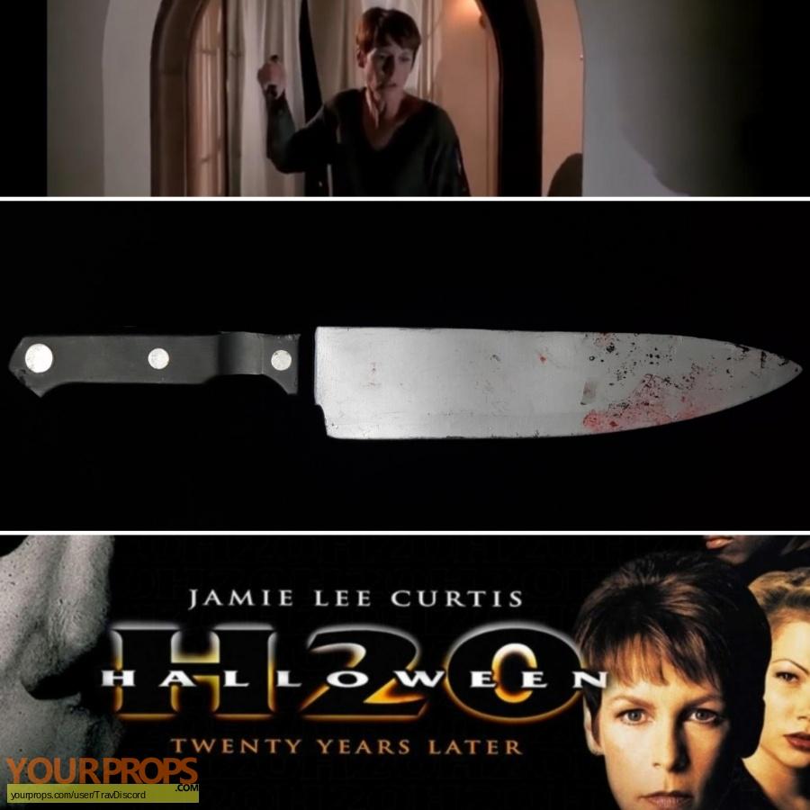 Halloween H20  20 Years Later original movie prop