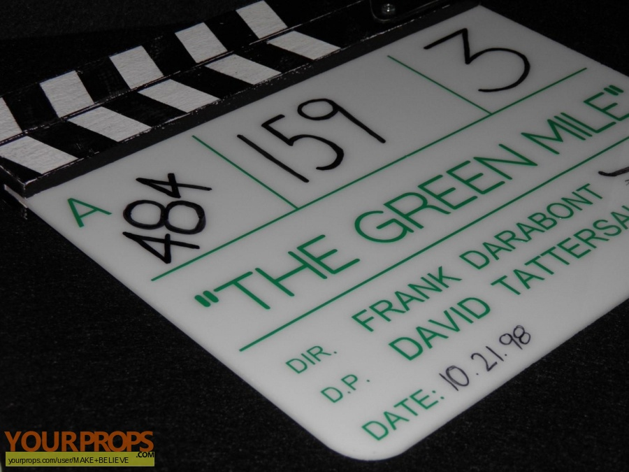 The Green Mile made from scratch production material